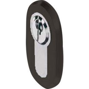 Nero Cilinderrozet Zwart